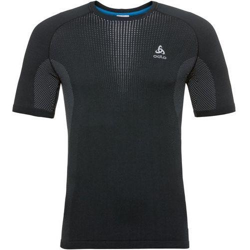 Męska bluza termoaktywna performance warm suw top 188042 60064 (czarny) xl marki Odlo