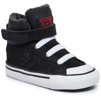 Converse Sneakersy - pro blaze strap hi 765281c black/enamel red/white