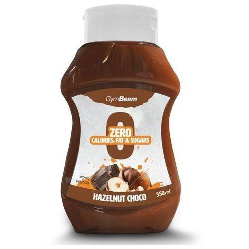 GymBeam Syrop bez kalorii o smaku czekolady i orzechów laskowych 350 ml (8588007130453)
