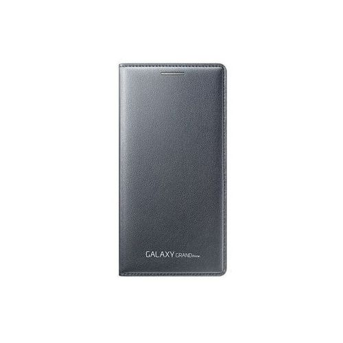 Etui flip wallet szare do  galaxy grand prime ef-wg530bsegww marki Samsung