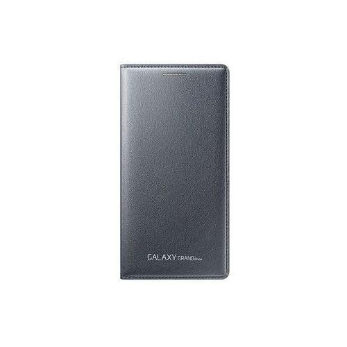 Etui flip wallet szare do  galaxy grand prime ef-wg530bsegww wyprodukowany przez Samsung