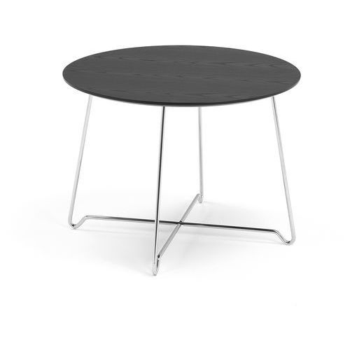 Aj produkty Stół kawowy iris, wys. 510 mm, chrom, czarny