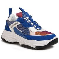 Sneakersy CALVIN KLEIN JEANS - Marvin S0592 Nautical Blue/Chintz Rose/White