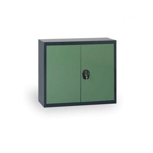 Alfa 3 Szafa metalowa, 800x1200x400 mm, 1 półka, antracyt/zielony