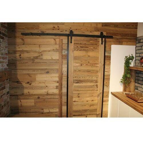Retrocegielka Retro drewno - deski, lamelki, odcienie brązu