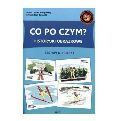 Historyjki obrazkowe. Co po czym? Zestaw niebieski - Witold Szwajkowski, Elżbieta Szwajkowska (9788362739837)