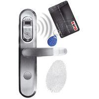 Eura-tech Szyld zamka elektromechanicznego - elh-50b9/silver (5905548273143)