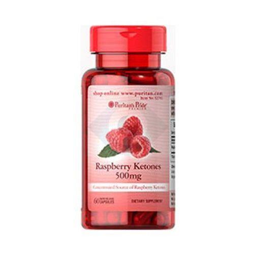Kapsułki RASPBERRY KETONES 500 mg - 60 KAPSUŁEK - NATURALNY SPOSÓB NA UTRATĘ WAGI