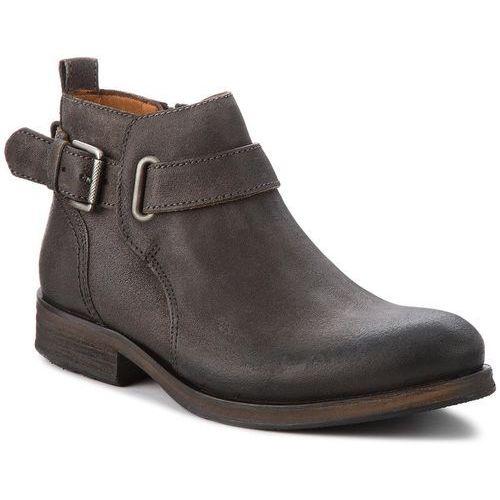 Trzewiki - dressy suede buckle em0em00138 steel grey 039, Tommy jeans, 40-46