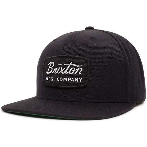 czapka z daszkiem BRIXTON - Jolt Snapback Black/Black/White (BBWHT) rozmiar: OS, kolor biały