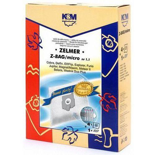 Worek do odkurzacza K&M Z-BAG Micro (4 sztuk) (5907525807679)
