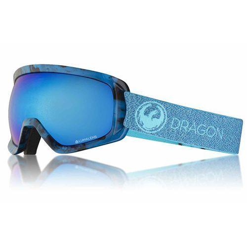 Gogle snowboardowe - d3 otg bonus mill/blueion+amber (866) rozmiar: os marki Dragon