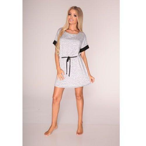 Koszula De Lafense 307 Jacqueline kr/r S-2XL XL, szary melange, De Lafense, 32926803070406600