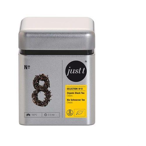 Herbata Just T No. 8 Black Tea Classic puszka 100g z kategorii Czarna herbata