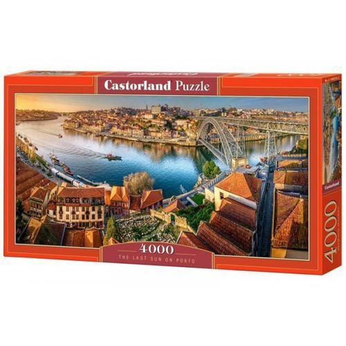 Castor Puzzle 4000 el.:the last sun on porto - darmowa dostawa kiosk ruchu