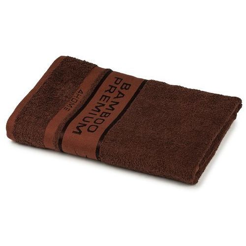 ręcznik kąpielowy bamboo premium ciemnobrązowy, 70 x 140 cm, 70 x 140 cm marki 4home