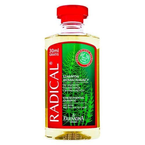 radical szampon regenerujšcy ze skrzypem polnym i prowitaminš b5 marki Farmona