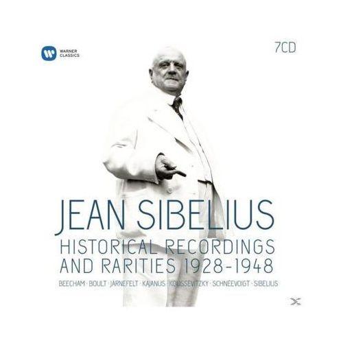 Warner music Sibelius-historical recordings & rarities 28-48 (0825646053179)