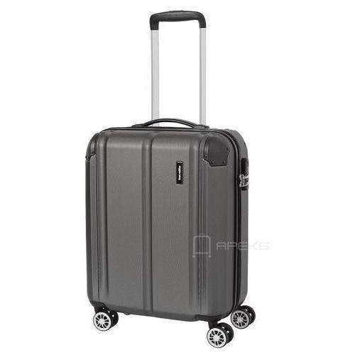 Travelite city mała walizka kabinowa 20/55 cm / szara - szary