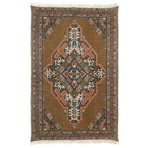 dywan z nadrukiem bawełniany/z juty (180x280) ttk3026 marki Hk living