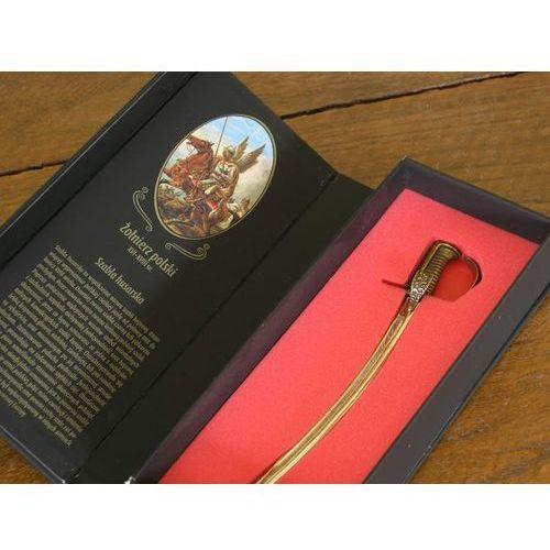 Nożyk do listów miniaturka szabla husarska wz 1750 w pudełku marki Polska