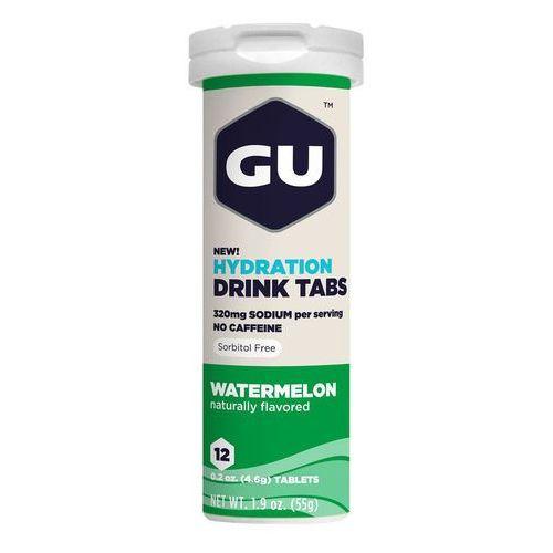 GU Energy Brew Hydration Żywność dla sportowców Arbuz 12 sztuk 2018 Napoje izotoniczne i inne