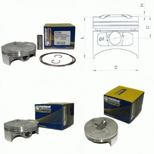 TŁOK HONDA CRF 250R 04-09 COMPR. 13,4:1 (77,97) SELEKCJA C PC2063C