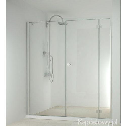 SMARTFLEX drzwi prysznicowe do wnęki skrzydłowe, prawe 180x195cm D1291R/D1190 (5903351401777)