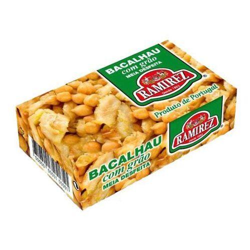 Bacalhau, dorsz portugalski z dodatkiem ciecierzycy 120g (przetwór rybny)