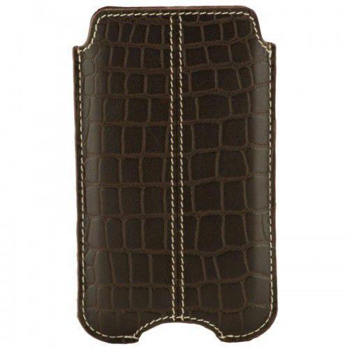 Etui  cover iphone - split croc brown marki Dbramante1928