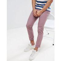 skinny chinos in pink - pink, Burton menswear