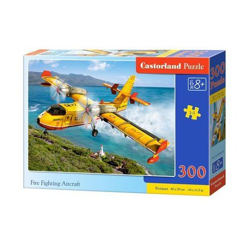 Castorland Fire fighting aircraft puzzle 300 (5904438030026)