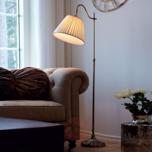 CHARLESTON 105921 LAMPA PODŁOGOWA MARKSLOJD PATYNA BEŻ, kolor patyna,