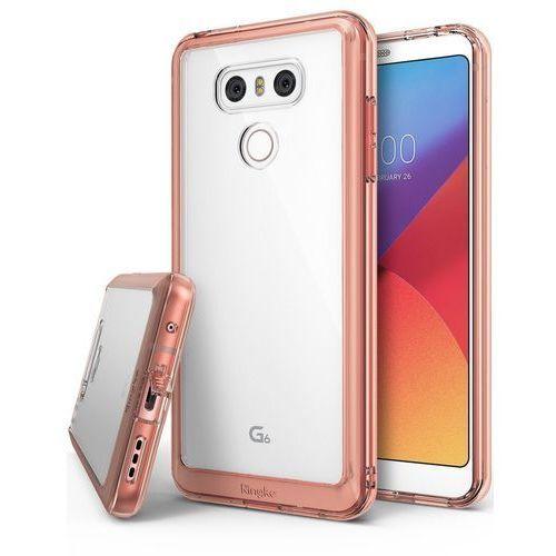 Etui Ringke Fusion dla LG G6 Rose Gold - Różowy, kolor Różowy