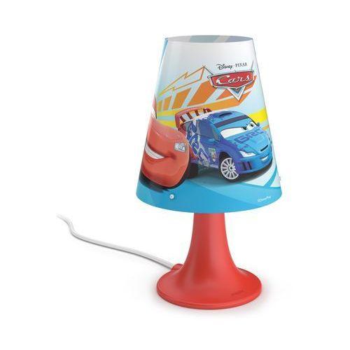 Philips 71795/32/16 - lampa stołowa dla dzieci disney cars led/2,3w/230v
