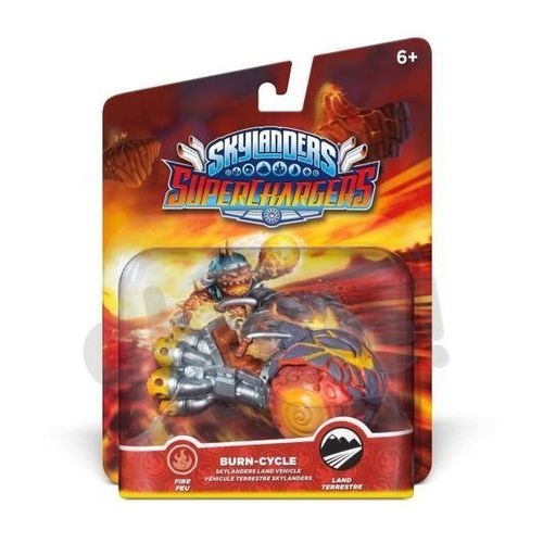 Disney Interactive Skylanders Superchargers, figurka Burn-Cycle Darmowy odbiór w 19 miastach!, CDP
