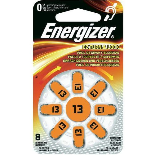Energizer Bateria słuchowa zinc 13 /8 szt. blister