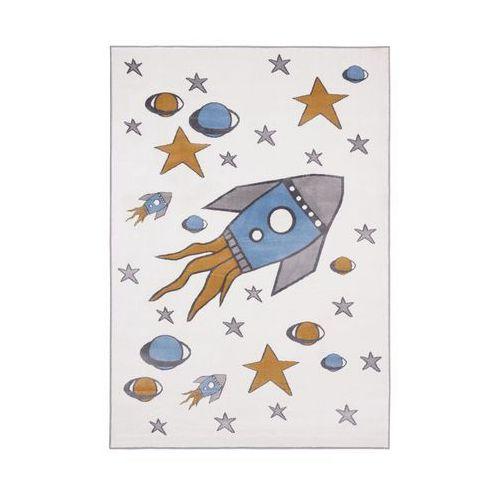 Dywan dziecięcy raketo perłowy 80 x 150 cm marki Agnella