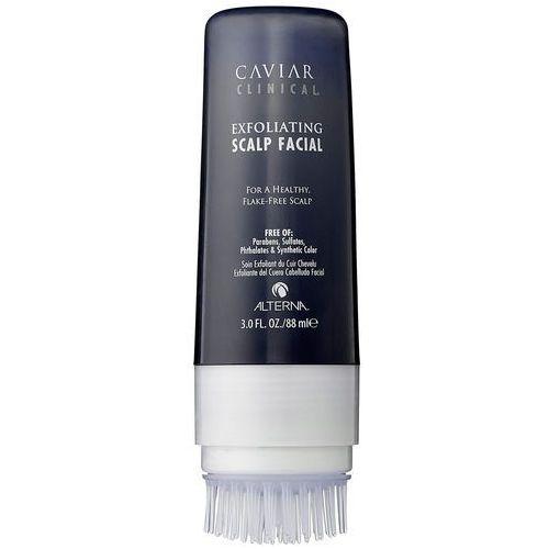 caviar clinical exfoliating scalp facial | oczyszczający peeling do skóry głowy 88ml marki Alterna
