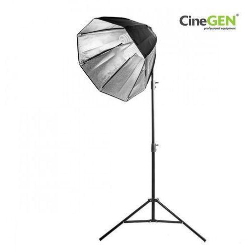 Lampa światła stałego softbox octa 80cm 4x 85w 290cm marki Cinegen