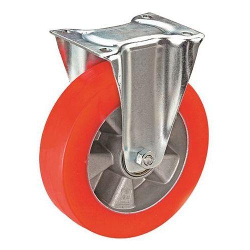 Wicke Ogumienie z poliuretanu na feldze aluminiowej, Ø x szer. kółka 125x40 mm, rolka