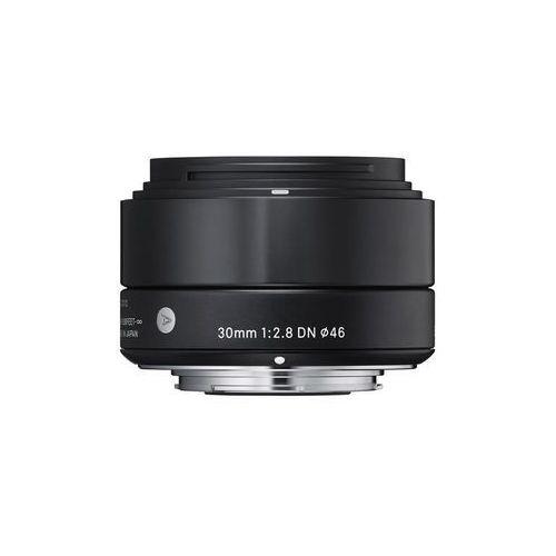 Sigma Obiektyw digital a 30/2.8 dn micro 4/3 (mft) czarny + darmowy transport! + zamów z dostawą jutro!