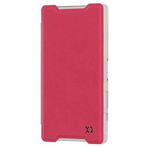 Etui XQISIT do Sony Xperia Z5 Compact Adour Różowy + Zamów z DOSTAWĄ JUTRO! z kategorii Futerały i pokrowce do telefonów
