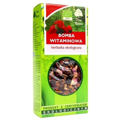 Dary natury - herbatki bio Herbatka bomba witaminowa bio 100 g - dary natury (5902741004062)