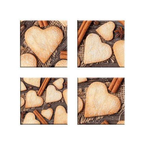 Alfa-cer Podstawka szklana sweet hearts (5902027027181)