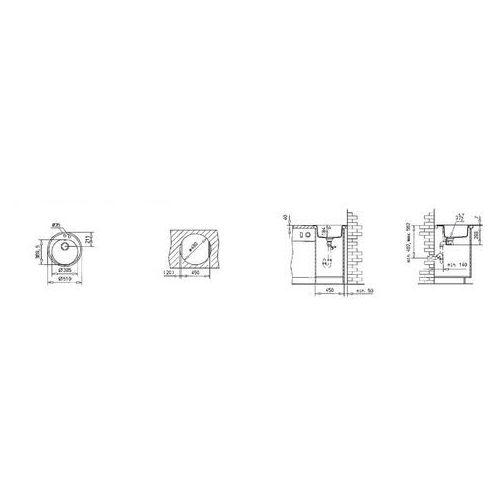 Teka Centroval 45-tg biały zlew (87351) (8421152067956)