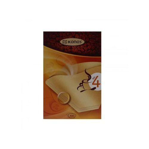 Scanpart Filtry do kawy konos rozmiar 4 100 szt.