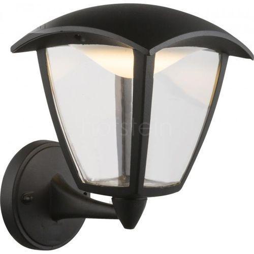 Globo Delio Zewnętrzny kinkiet LED Czarny, 1-punktowy - Dworek - Obszar zewnętrzny - Delio - Czas dostawy: od 6-10 dni roboczych