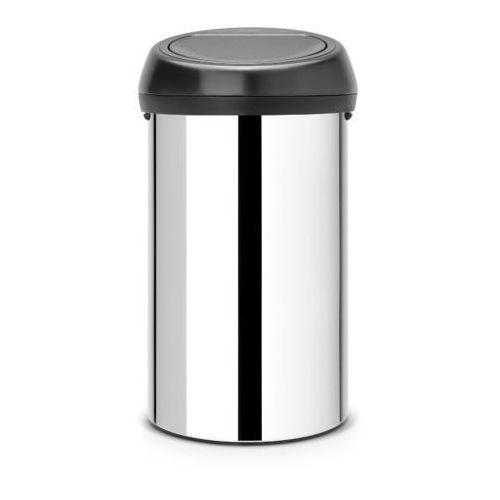 - kosz 'touch bin' - pokrywa plastikowa - 60l - stal polerowana marki Brabantia