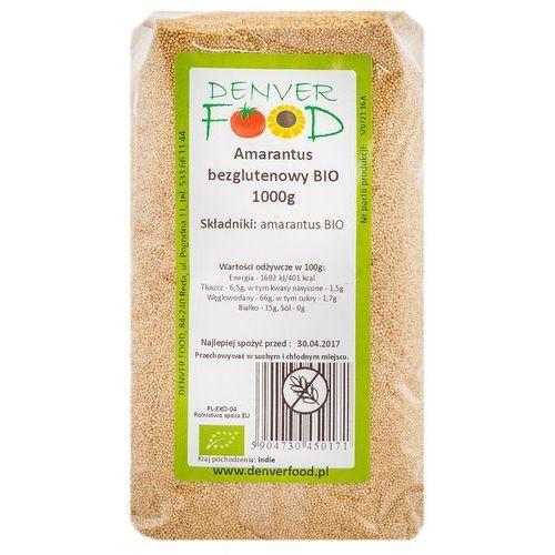 Amarantus Bezglutenowy BIO 1 kg Denver Food, 5904730450171
